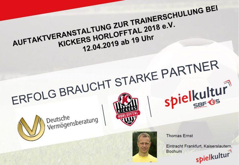 Thomas Ernst (Ex-Profi Eintracht Frankfurt) besucht die Kickers
