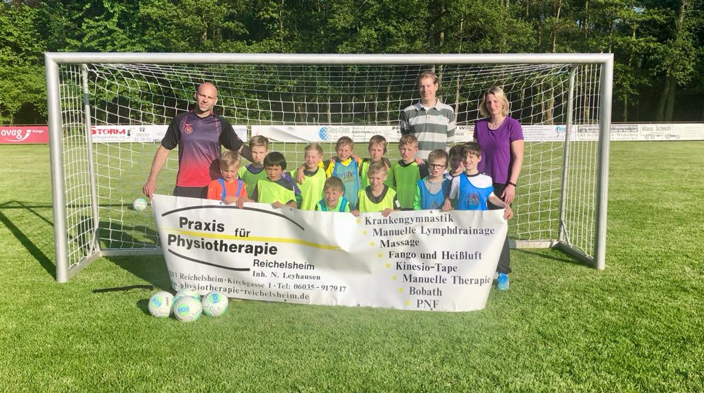 Ballspende von Nicole Leyhausen (Praxis für Physiotherapie Reichelsheim)