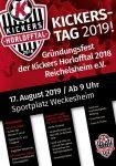 Kickers Tag 2019 - Der Zeitplan