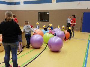 Weihnachtsfeier der Ballschule
