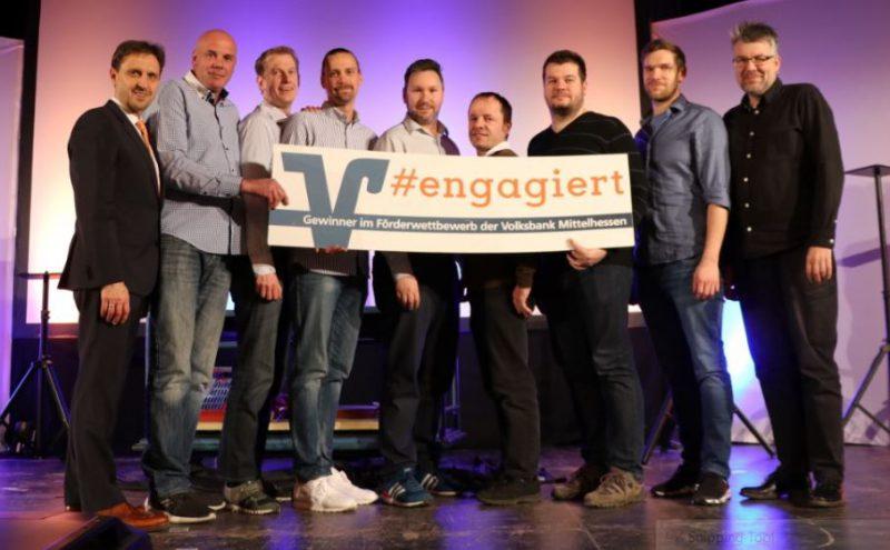 Kickers gewinnen Förderpreis der Volksbank Mittelhessen