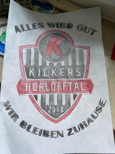 """Kickers Ausmalbild """"Alles wird gut"""""""