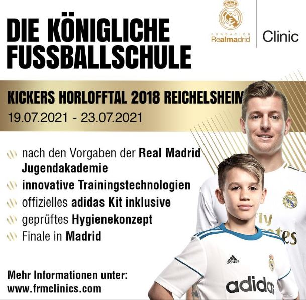 Real Madrid in der Kickers Arena