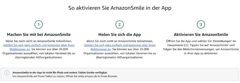 Unterstützt die Kickers beim shoppen auf amazon.de